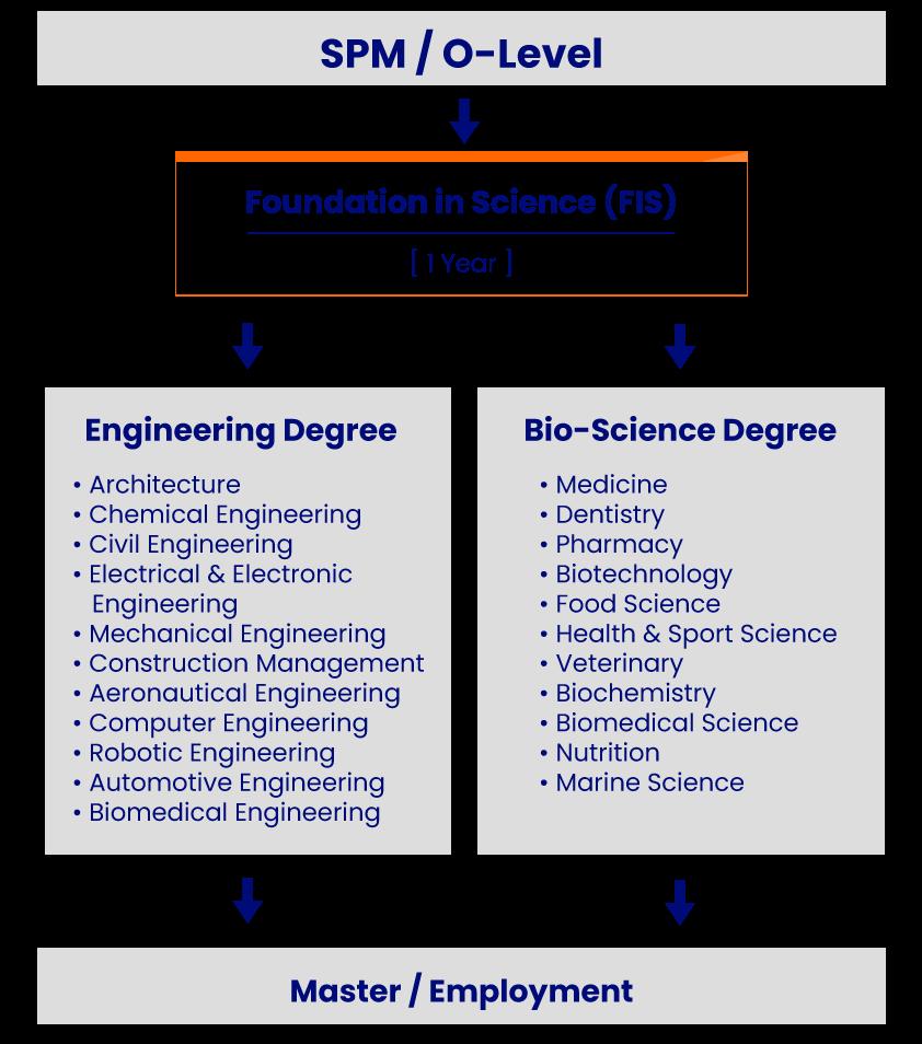 YPC faculty of science education pathway desktop