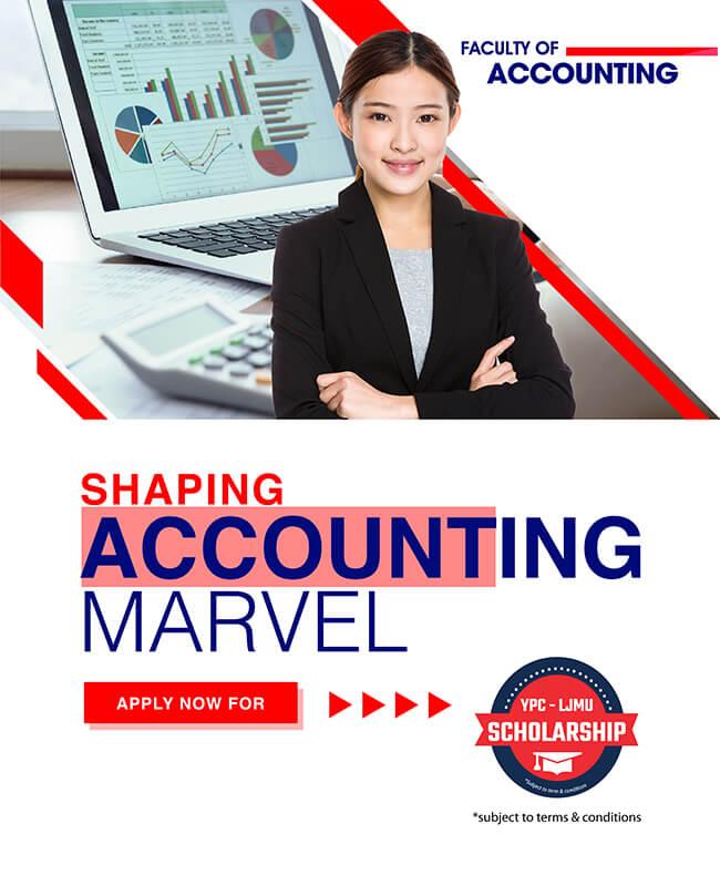 YPC International College Faculty of Accounting Banner Mobile