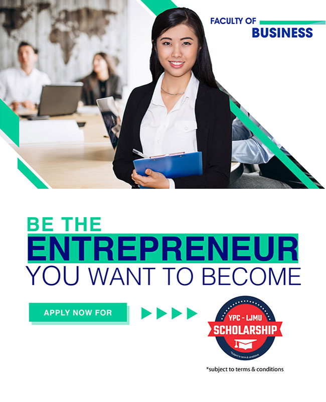 YPC International College Faculty of Business Banner Mobile